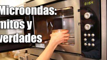 Verdades y mentiras sobre el uso del microondas