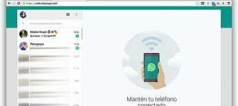 Cómo recibir notificaciones de WhatsApp web en Chrome.
