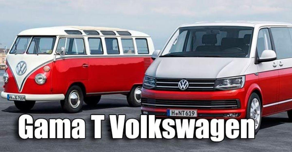 Sexta generación de la Gama T, lo nuevo de los vehículos comerciales de Volkswagen
