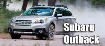 El nuevo Subaru Outback de quinta generación.
