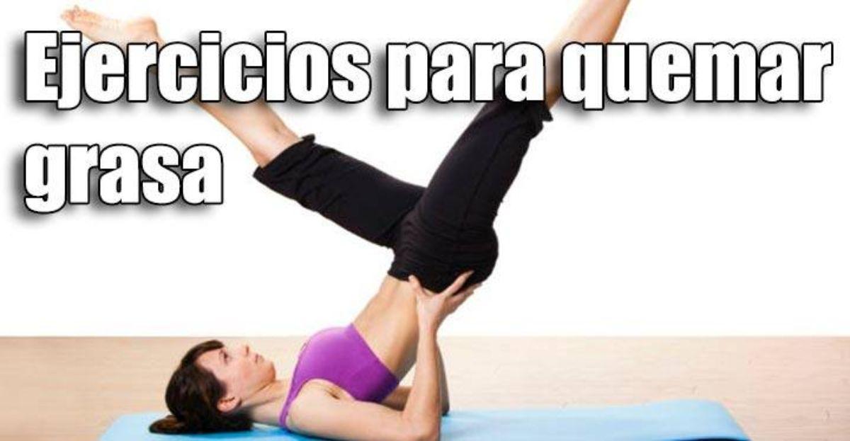 Estos son los mejores ejercicios para quemar grasa