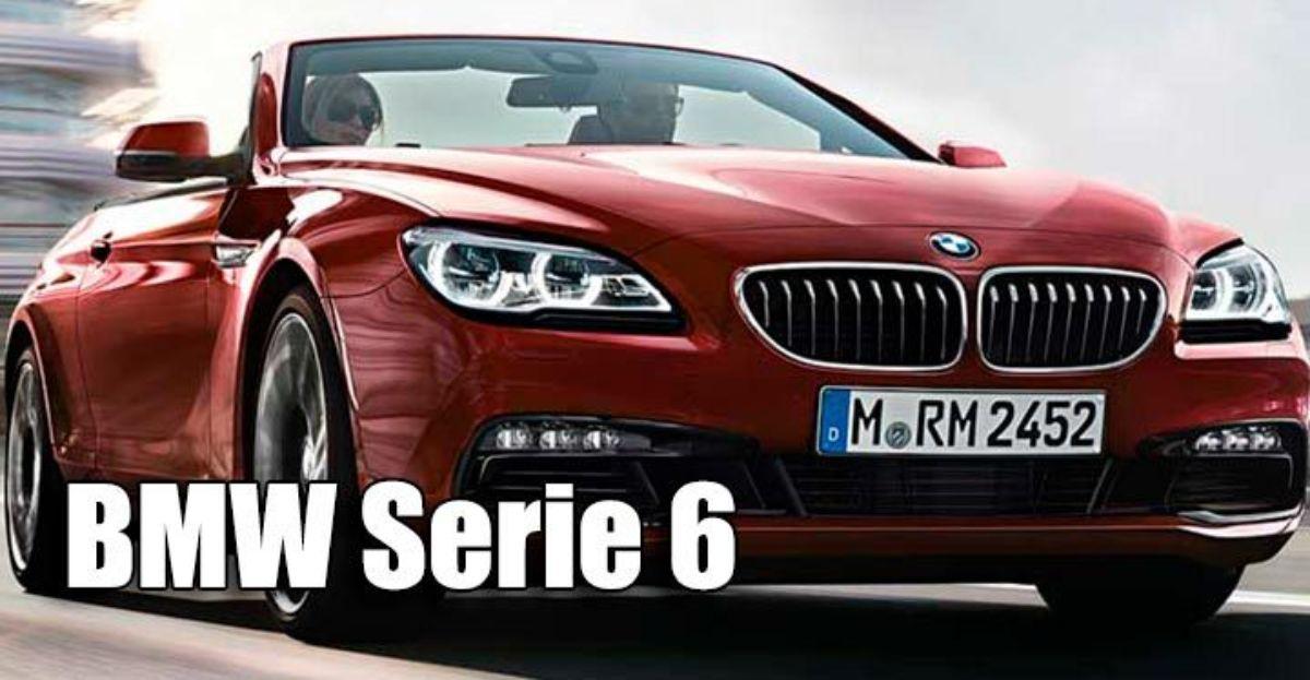 El BMW Serie 6 descapotable, entre los mejores coches descapotables