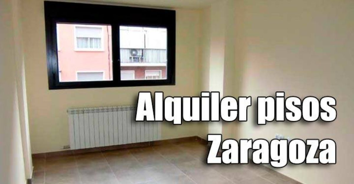 Alquiler pisos en zaragoza por 80 euros al mes for Piso zaragoza alquiler