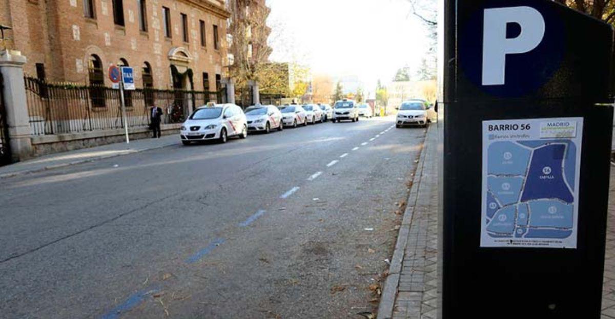 El recurso para la zona azul Madrid ya puede pagarse con el teléfono móvil-1