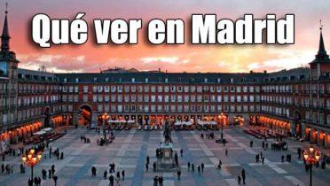 Qué ver en Madrid en un fin de semana