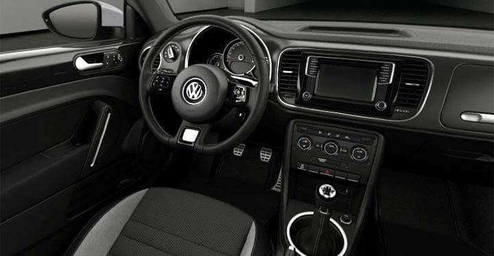 Interior del nuevo Volkswagen Beetle