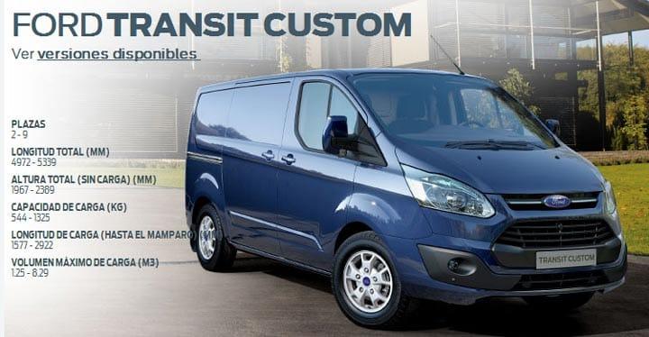 La nueva Ford Transit Custom convierte a la marca en la más vendida en vehículos comerciales-1