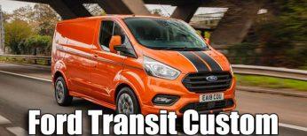 La nueva Ford Transit Custom convierte a la marca en la más vendida en vehículos comerciales