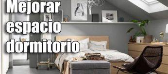 Cómo mejorar el espacio de un dormitorio pequeño