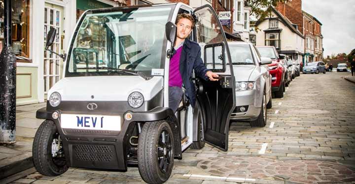 MEV Zip, el coche eléctrico y automático que se puede conducir sin carné.