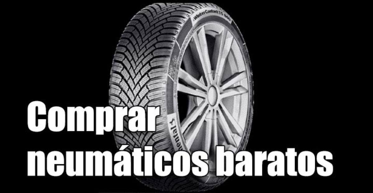Comprar neumáticos baratos o usados incrementa el consumo de combustible