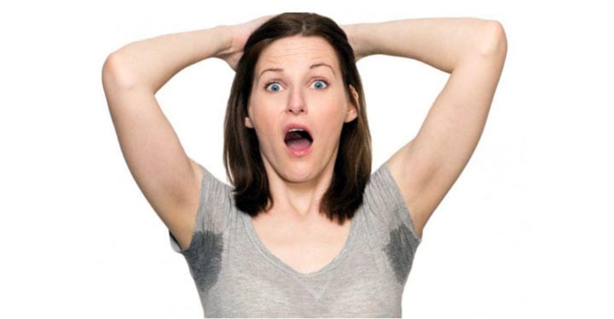 Como acabar con el exceso de sudor en las axilas y el mal olor
