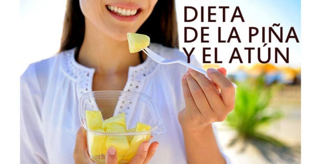 Dieta pina y atun 5 kilos