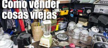 Cómo vender muebles usados o viejos electrodomésticos que ya no usamos