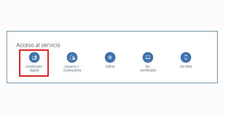 Cómo pedir la vida laboral con certificado digital-1