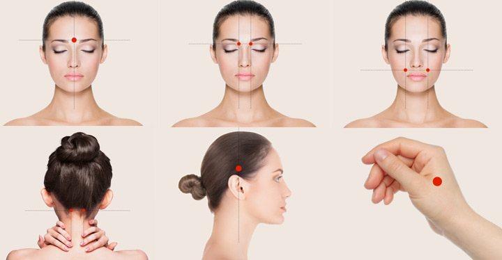 Cómo masajearte y acabar con el dolor de cabeza
