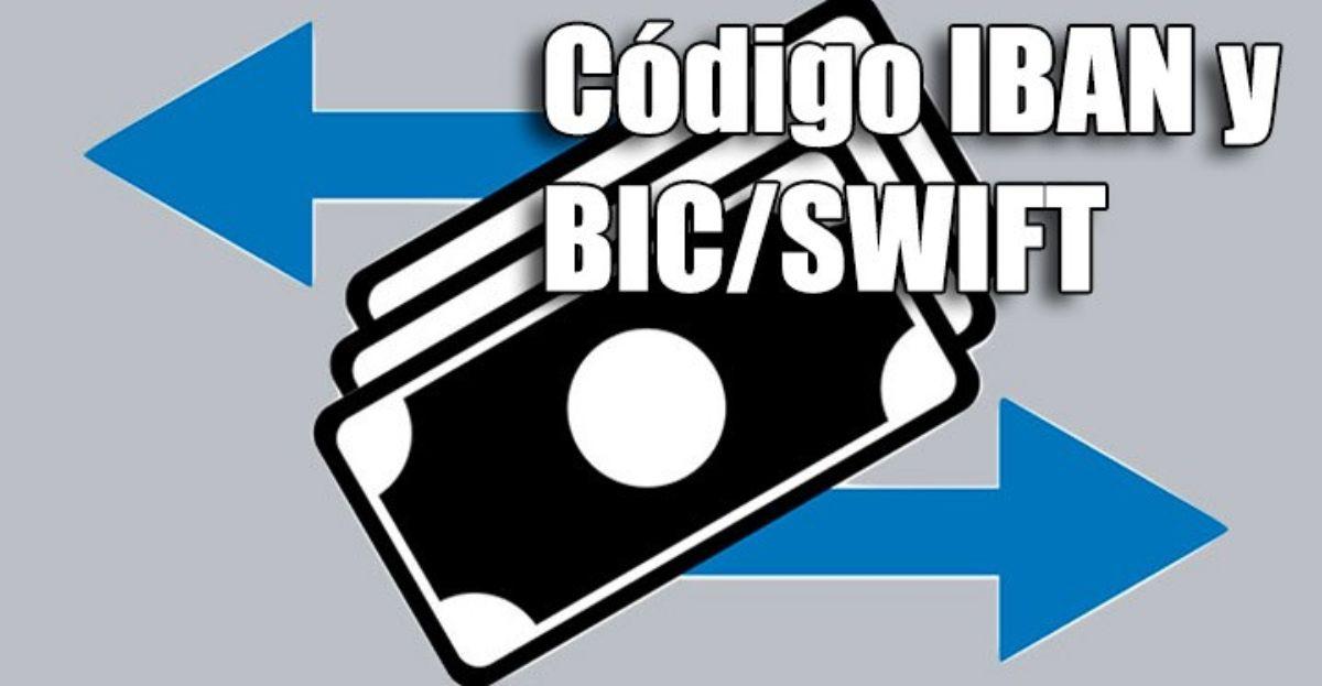 Qué es el IBAN o el BIC y el SWIFT