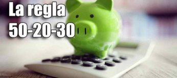 Cómo ahorrar con la regla del 50-20-30