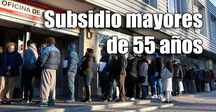 Cómo solicitar el subsidio si tengo más de 52 años