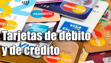Diferencias entre tarjetas de crédito y de débito