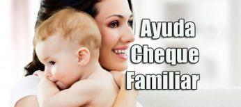Como solicitar los 1.200 euros de la ayuda Cheque Familiar 2018