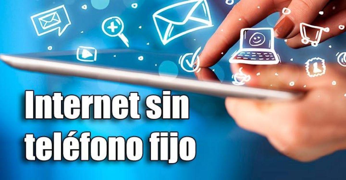 Cómo tener Internet sin pagar la línea de teléfono