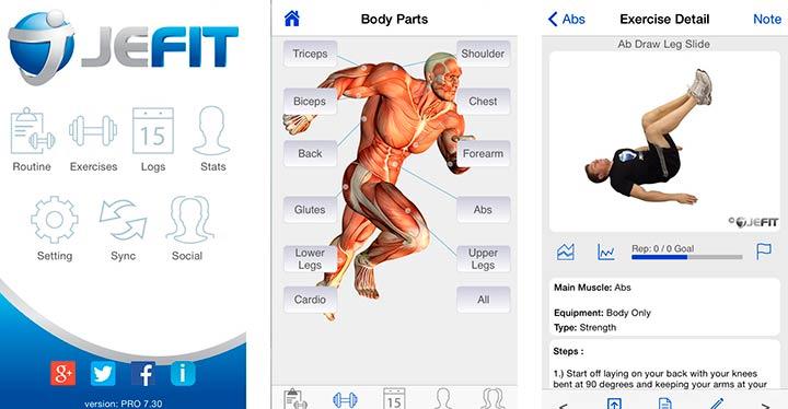 16 aplicaciones para hacer ejercicio en casa o en la calle y olvidarte del gimnasio-1