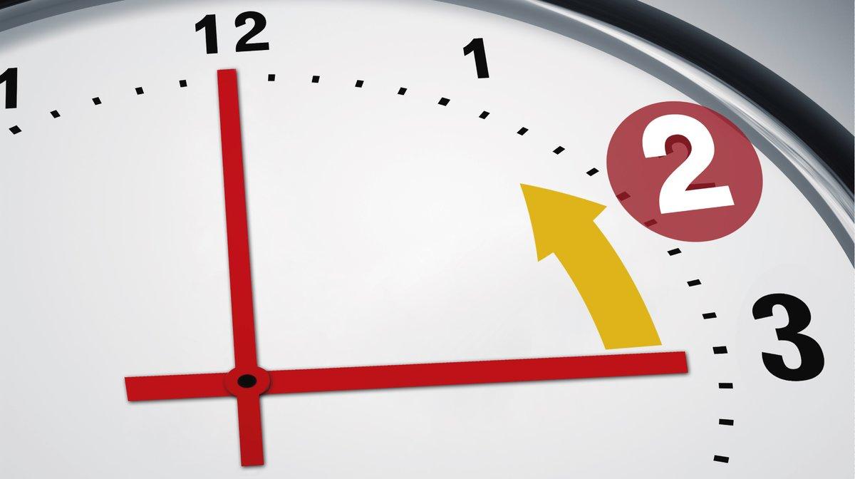 Cambio de hora: a las 3 de la madrugada del domingo se retrasa una hora