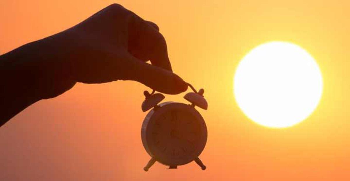 El cambio de hora provoca tristeza