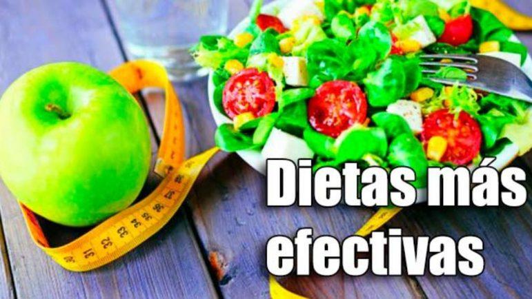 Las dietas más efectivas son la mediterránea, la DASH y la Clínica Mayo