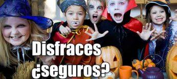 Disfraces, máscaras y pelucas peligrosos para Halloween