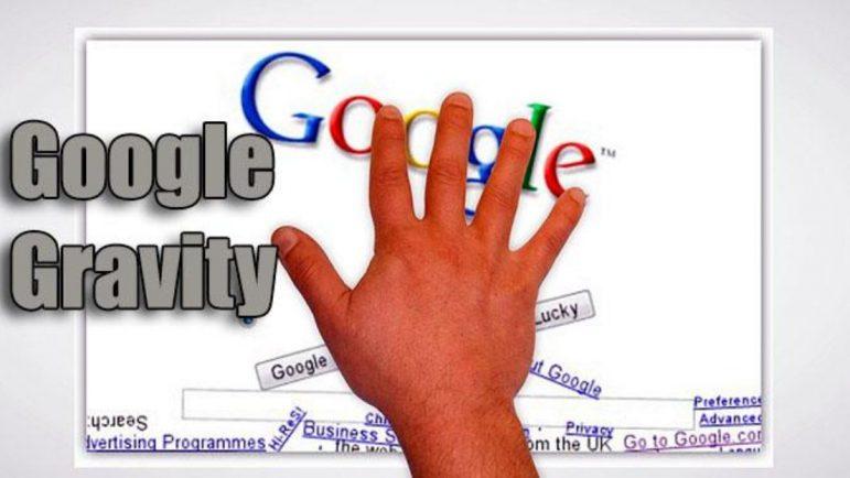 Cómo usar Google Gravity