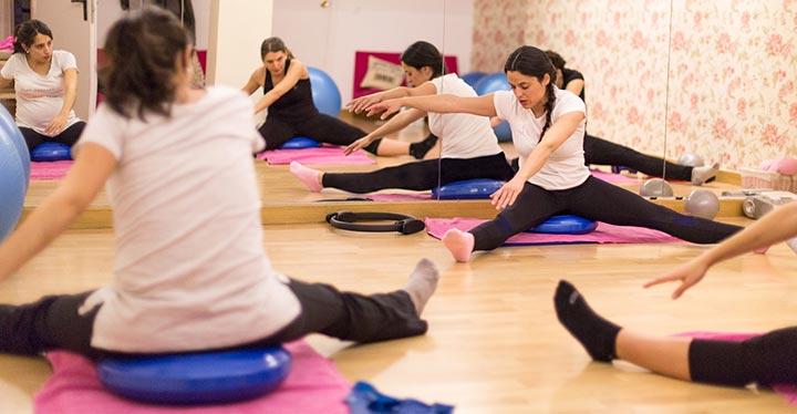 Cómo hacer Pilates para embarazadas-1