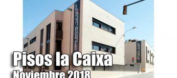 Pisos alquiler por 150 euros de la Caixa convocatoria 2018.