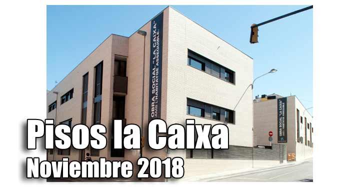 Pisos alquiler por 150 euros de la Caixa convocatoria 2018