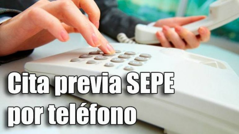 Pedir cita previa SEPE por teléfono