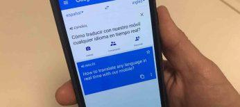 Cómo traducir con el móvil conversaciones en tiempo real