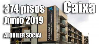 Pisos alquiler por 150 euros de la Caixa convocatoria 2019