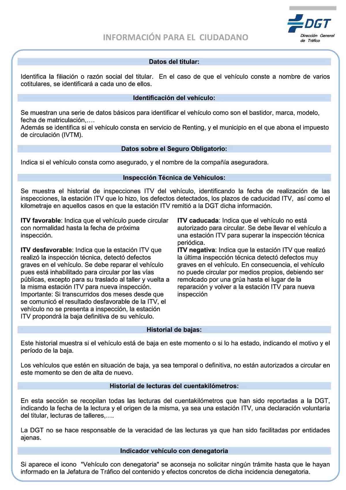 Informe DGT página 1