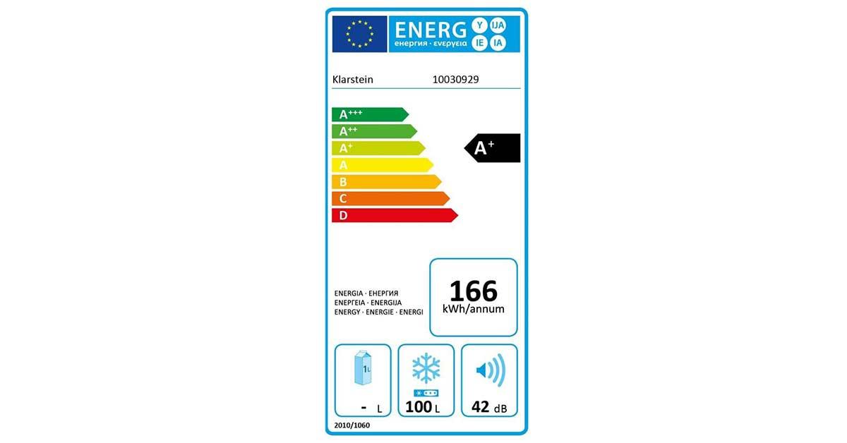 Consumo energético anual de un frigorífico