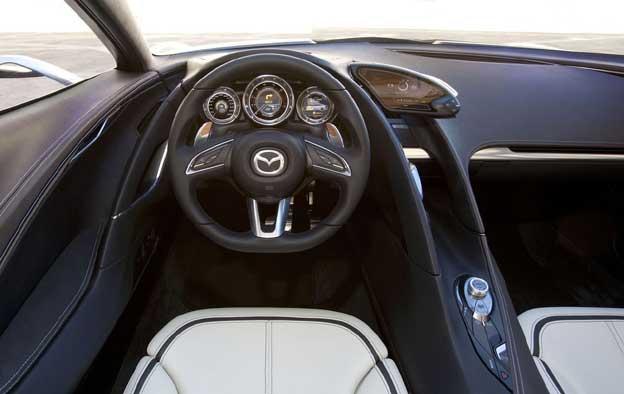 Parte del conductor del Mazda SHINARI