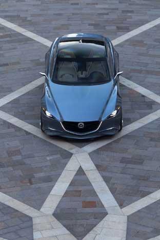 Mazda SHINARI desde arriba