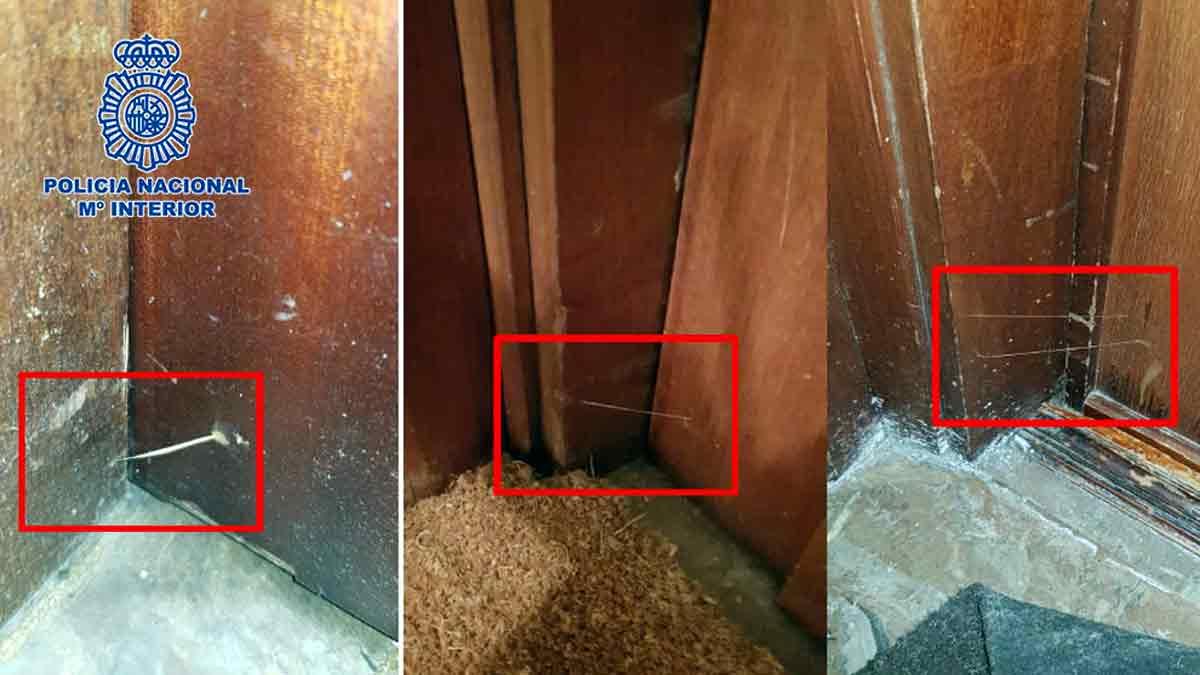 Técnicas de los ladrones para robar en las viviendas