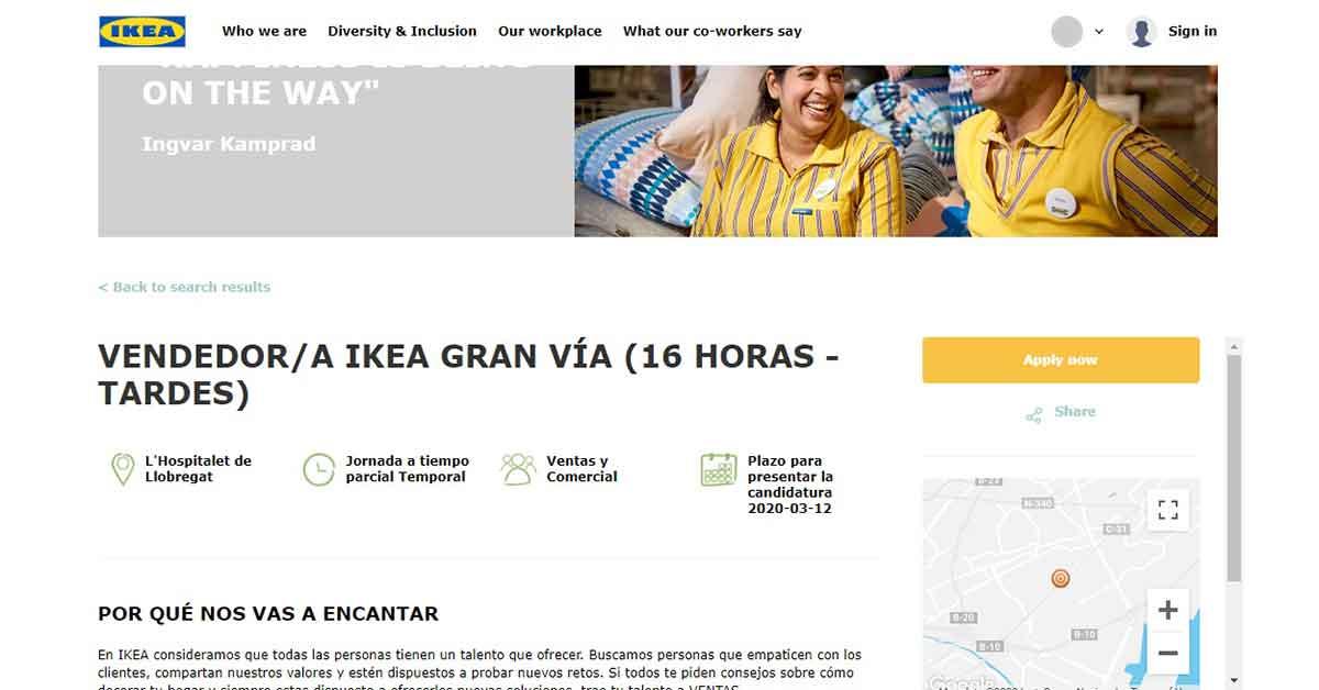 Oferta empleo IKEA