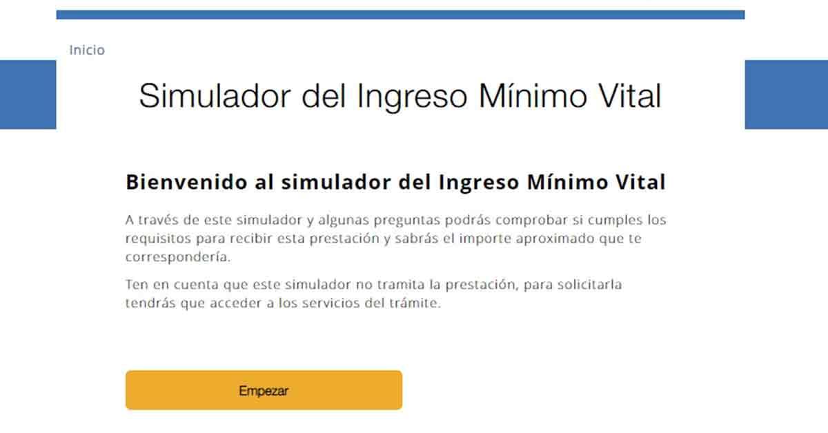 simulador ingreso mínimo vital