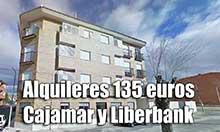 Pisos de alquiler de Liberbank y Cajamar