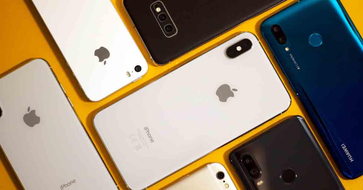 diferentes tipos de teléfonos