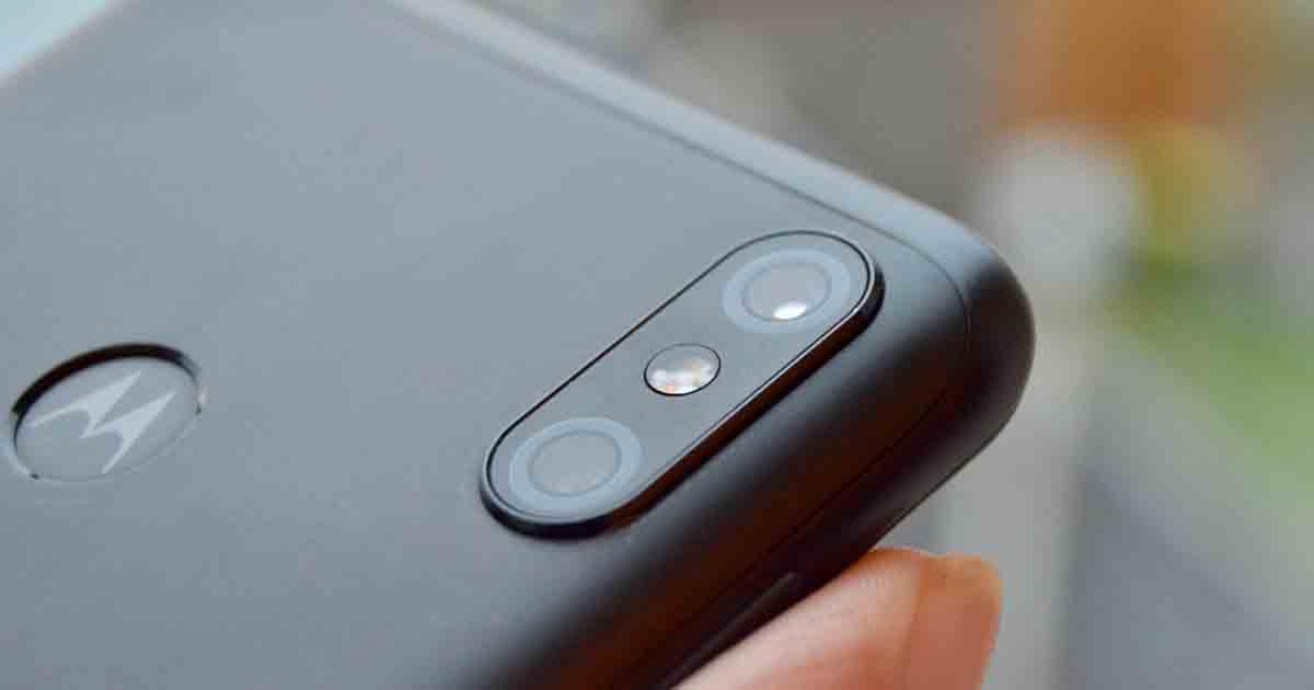 cámara de un teléfono android