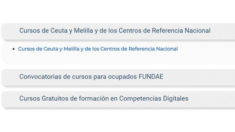 Cursos Ceuta y Melilla