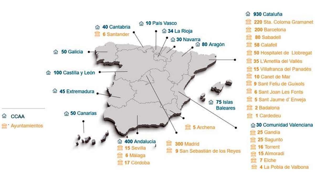 Viviendas sociales en España